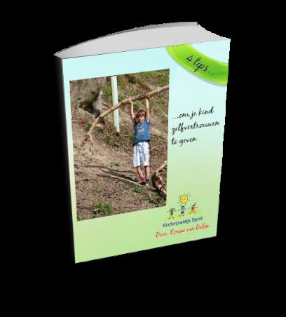 e-book - 4 tips om je kind zelfvertrouwen te geven.
